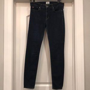 Hudson size 28 dark blue skinny jeans